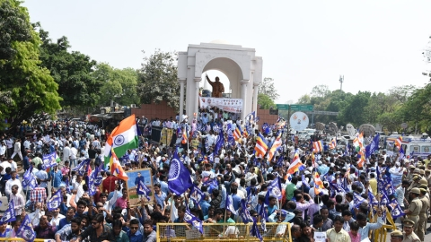 In pictures: Bharat Bandh called by SC/ST groups