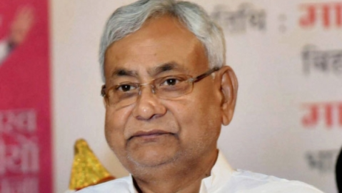 Watch: Swarn Sena activist hurls sandal at Bihar CM Nitish Kumar