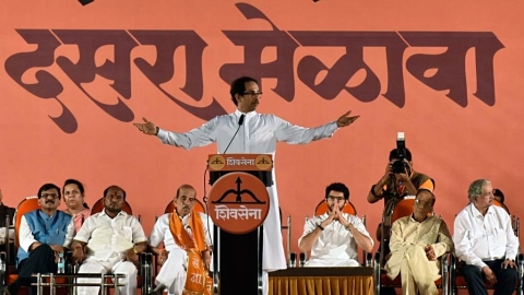 "Shiv Sena: Pillars of democracy have been made hollow by ""termites"""