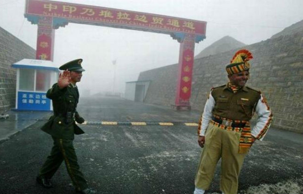 A representative image of a section of Indo-China border