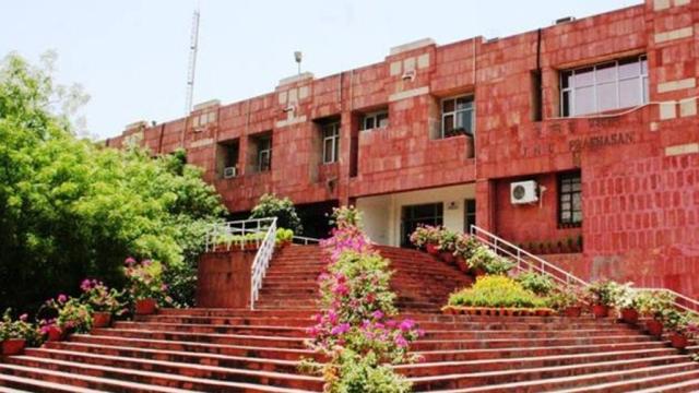 A file photo of the Admin Block at Jawaharlal Nehru University at Delhi