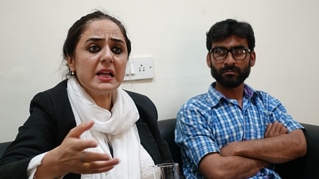 Kathua rape and murder victim's lawyers Deepika Singh Rajawat and Talib Hussain
