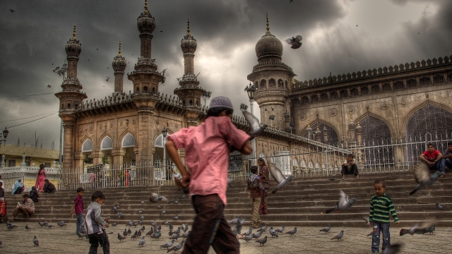 File photo of Mecca Masjid in Hyderabad