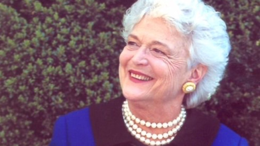 File photo of Barbara Bush