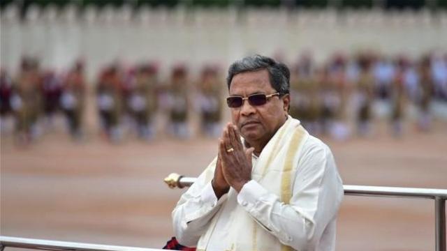 File photo of Karnatka CM Siddaramaiah