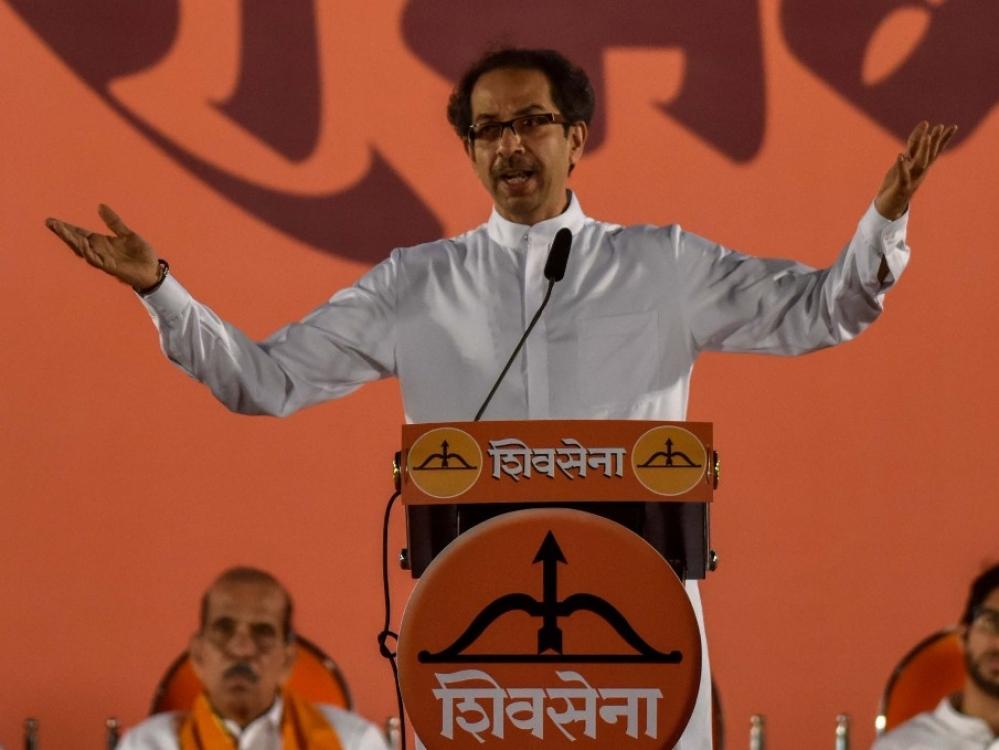 File photo of Shiv Sena President Uddhav Thackeray