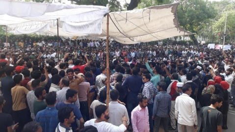 Aligarh: Civil society comes out strongly in support of AMU students