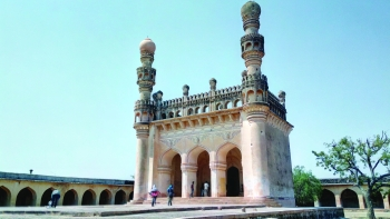 The Gandikota Fort mosque in Andhra Pradesh