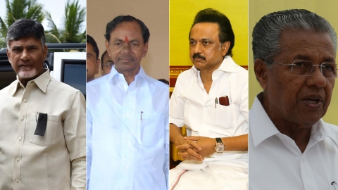 South Bloc: JDS-Cong get support from AP, Telangana, Kerala, TN leaders