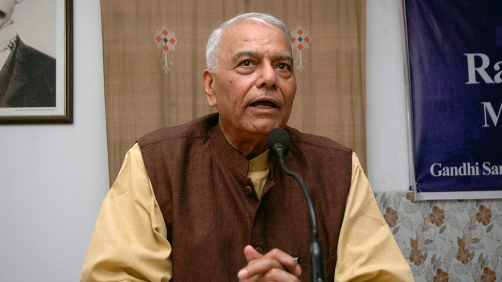 File photo of former Union Minister Yashwant Sinha