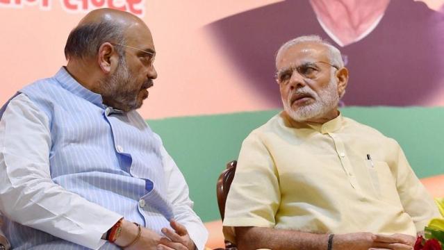 File photo of BJP chief Amit Shah (Left) and Prime Minister Narendra Modi (Right)