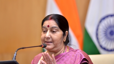 Sushma urges Indians in Tripoli to leave immediately