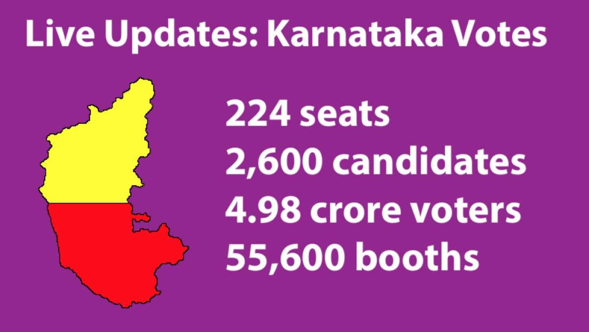 Live Updates: Karnataka votes to elect new state government
