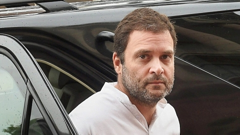 "Karnataka: ""Mockery of Constitution"" thunders Rahul after BSY sworn in"