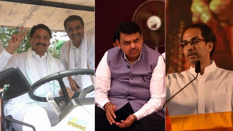 Maharashtra: Congress-NCP combine well as Sena-BJP bad blood spills over