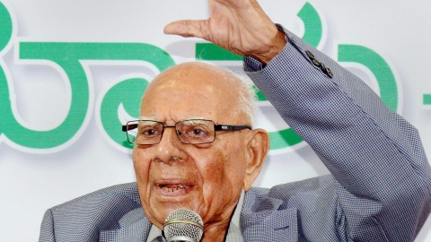 Tributes pour in for Ram Jethmalani; Prez, PM hail eminent jurist