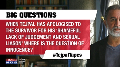 Why Times Now should face strict action for Tejpal Tapes programme