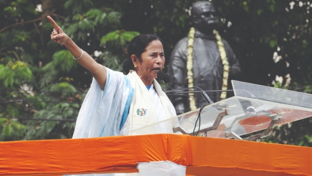File photo of West Bengal Chief Minister Mamta Banerjee