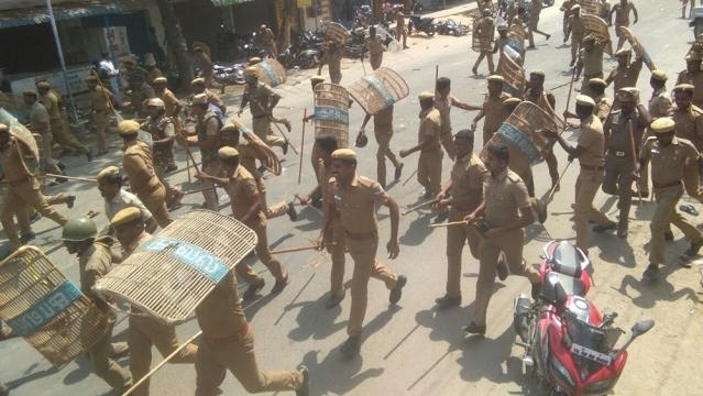 Image result for Prakashraj condemns TN government in sterlite issue