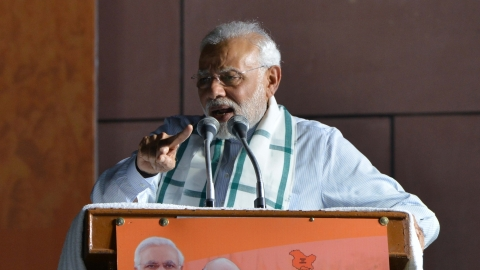 Modi calls Bengal poll violence 'murder of democracy'