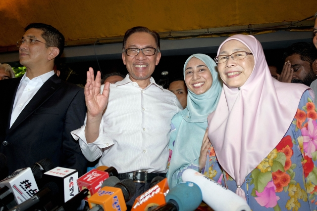 Malaysia's reformist icon Anwar Ibrahim has been freed from custody after receiving a royal pardon, paving the way for a political comeback following his alliance's stunning election victory.