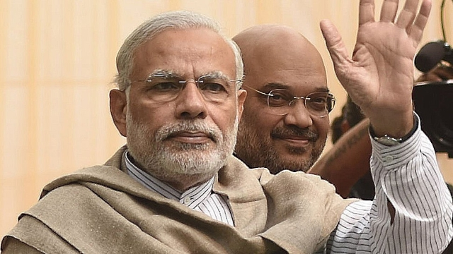File photo of Prime Minister Narendra Modi and BJP President Amit Shah in Delhi