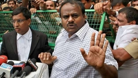 Karnataka: Kumaraswamy says BJP offering JD(S) MLAs ₹100 crore