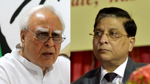 Kapil Sibal says withdrew petition as SC  refused to say who referred case to 5-judge bench