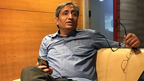 Ravish Kumar: News channels are being used to crush democracy in India