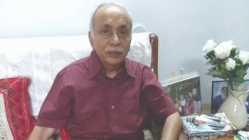 File photo of retired IAS officer SN Shukla