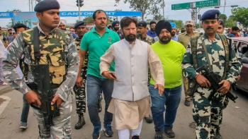 File photo of BJP MLA Choudhary Lal Singh, former minister in the PDP-BJP coalition government in Jammu & Kashmir