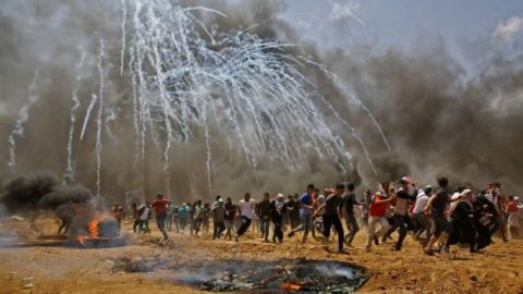 55 Palestinians killed in Israel fires as US opens embassy in Jerusalem