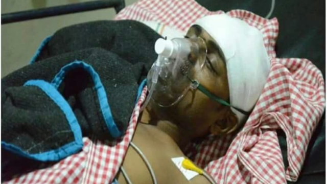 One of the victims of the mob attack on allegations of cattle slaughter
