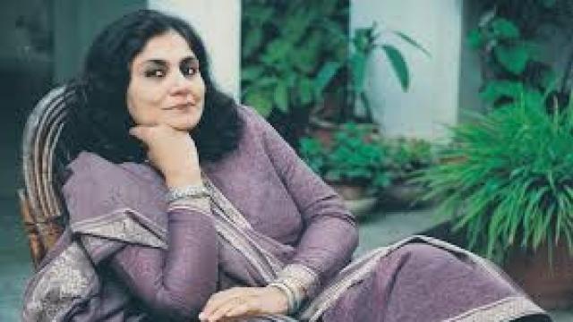 File photo of Madeeha Gauhar