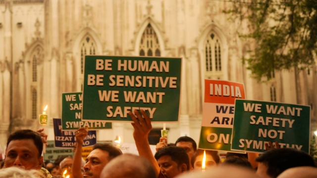 People from different communities took to the streets to protest the Kathua and Unnao rape incidents.