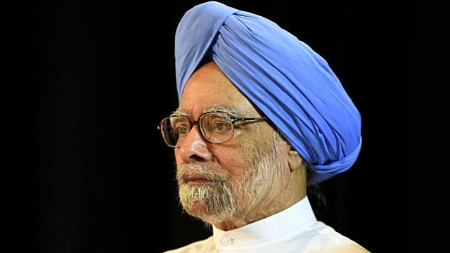 File photo of former Prime Minister of India Dr Manmohan Singh