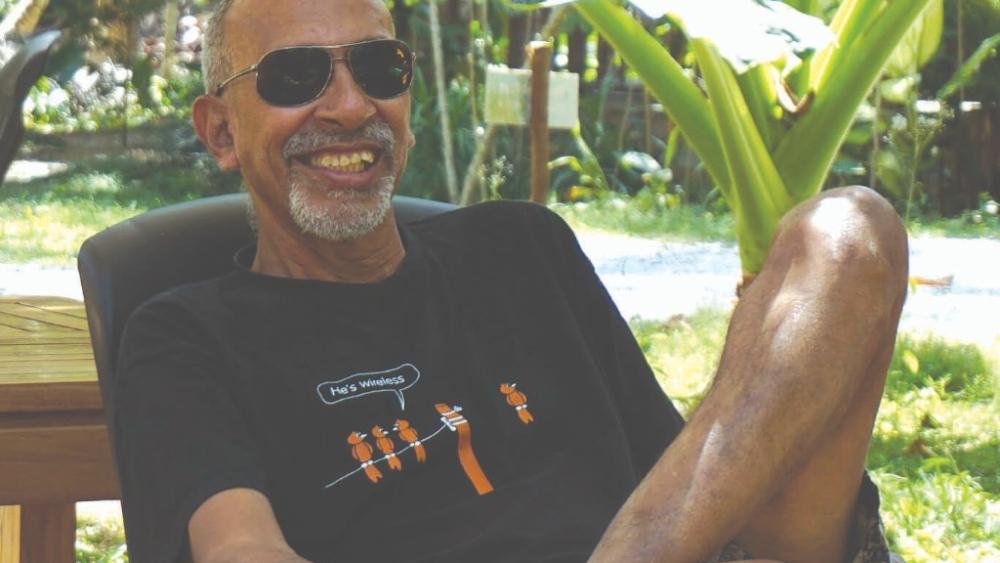 The author Rauf Ali