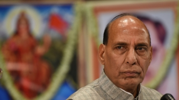 File photo of Union Home Minister Rajnath Singh