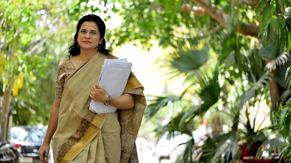 Activist Anjali Bhardwaj of the National Campaign for Peoples Right to Information (file photo)
