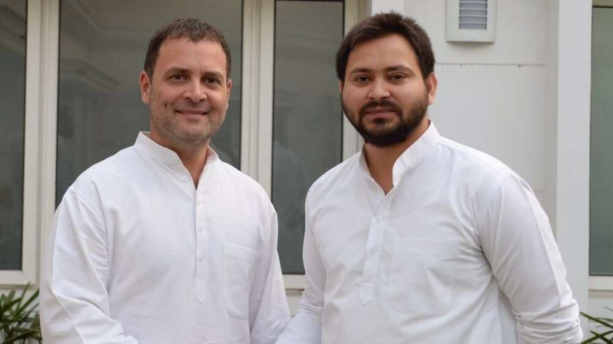 Rahul will play 'central role' in formation of new govt: Tejashwi Yadav