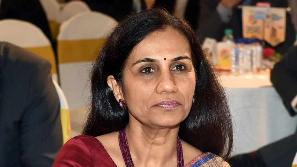 File photo of ICICI CEO Chanda Kochhar