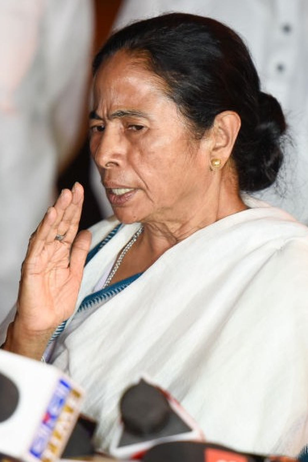 Chief Minister of West Bengal Mamata Banerjee speaks to media (file photo)