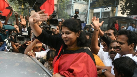 Kanimozhi, the sweet one: Her father's daughter
