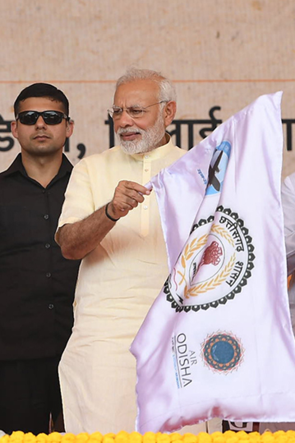Prime Minister Narendra Modi inaugurating the air services between Jagdalpur and Raipur, at a function in Bhilai, Raipur, on June 14 (file photo)