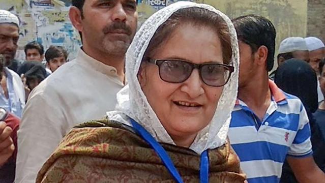 A file photo of newly-elected Rashtriya Lok Dal (RLD) MP from Kairana, Tabassum Hasan