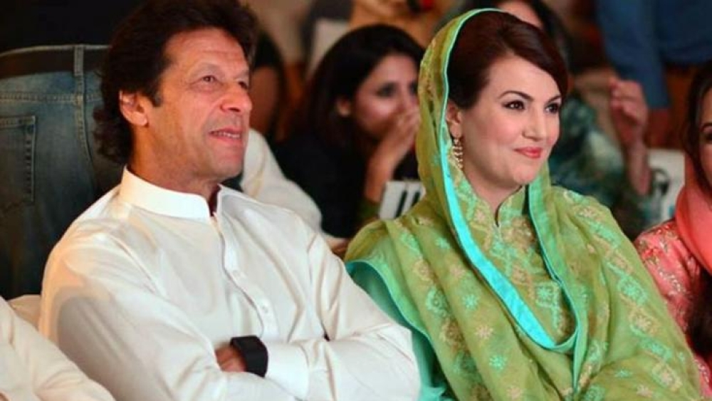 File photo of Imran Khan and Reham Khan