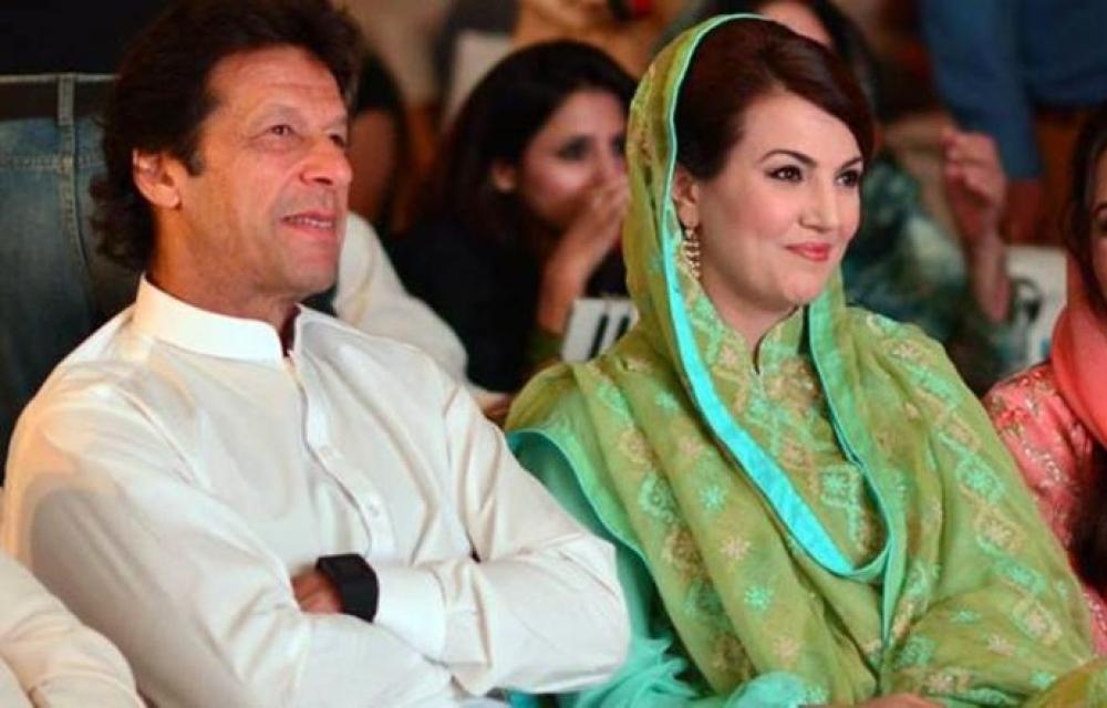 File photo of Imran Khan and Reham Khan