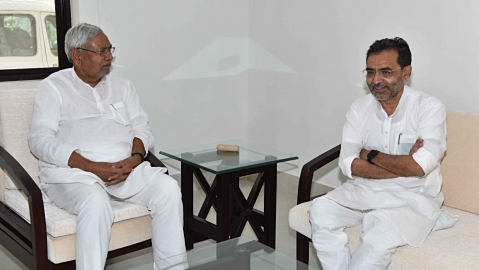Bihar: Is Nitish Kumar fanning the  split in Upendra Kushwaha's RLSP?