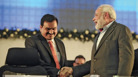 Image result for pics of gopla adani and modi
