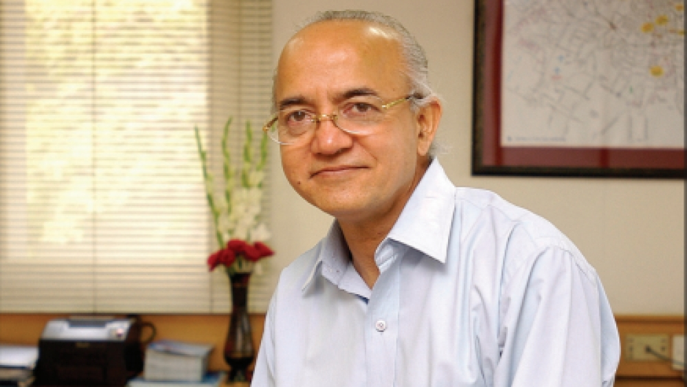 File photo of MCD commissioner Rakesh Mehta